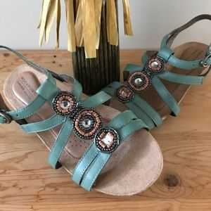 Rockport Gently used sandals, Sz 9M